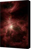 Nebula Canvas Prints - Orions Inner Beauty Canvas Print by Stocktrek Images