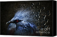 Face Digital Art Canvas Prints - Ornamental Nature Canvas Print by Andrew Paranavitana