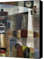 D.c. Canvas Prints - OS1957BO016 Abstract Landscape of Potosi Bolivia 20.3 x 28.9 Canvas Print by Alfredo Da Silva