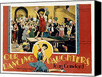 Posth Canvas Prints - Our Dancing Daughters, Joan Crawford Canvas Print by Everett