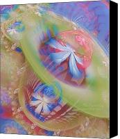 Apophysis Pastels Canvas Prints - Our Hearts Sing  Canvas Print by Gayle Odsather