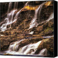 Androscoggin River Canvas Prints - Out My Backdoor  Number 2 Canvas Print by Bob Orsillo