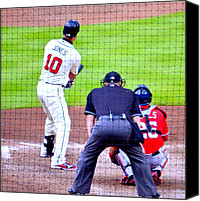 Washington Nationals Canvas Prints - Out Of The Park..... Canvas Print by Tanya Tanski