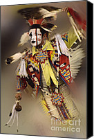 Pow Wow Canvas Prints - Out Of Time Canvas Print by Bob Christopher