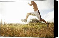 Brandon Tabiolo Canvas Prints - Outdoor Jogging III Canvas Print by Brandon Tabiolo - Printscapes