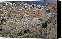 Dubrovnik Canvas Prints - Over the Top Canvas Print by Madeline Ellis