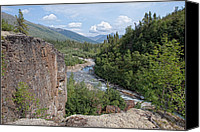 Wiseman Alaska Canvas Prints - Overlook - Marion Creek Canvas Print by Gary Rose