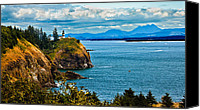 Ocean Photography Canvas Prints - Overlooking Canvas Print by Robert Bales