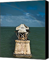 Florida Bridge Photo Canvas Prints - Overseas Railroad Canvas Print by Scott Meyer