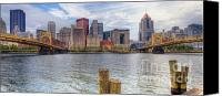 Clemente Canvas Prints - PA0001 Pittsburgh 1 Canvas Print by Steve Sturgill
