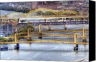 Clemente Canvas Prints - PA0008 Pittsburgh 8 Canvas Print by Steve Sturgill