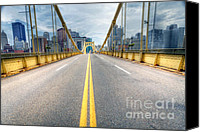Clemente Canvas Prints - PA0009 Pittsburgh 9 Canvas Print by Steve Sturgill
