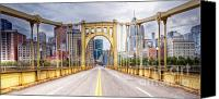 Clemente Canvas Prints - PA0010 Pittsburgh 10 Canvas Print by Steve Sturgill