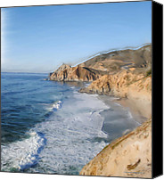 Collaboration Canvas Prints - Pacifica Canvas Print by Wayne Bonney