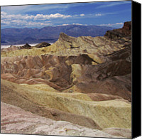 Death Valley National Park Canvas Prints - Painted Desert Canvas Print by PetterPhoto petter.junk@gmail.com