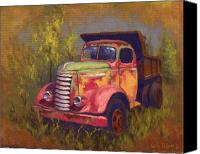 Old Trucks Canvas Prints - Painted Lady Canvas Print by Cody DeLong