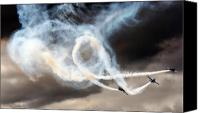 Extra 300 Canvas Prints - Painting The Sky Canvas Print by Angel  Tarantella