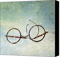 Illustration Canvas Prints - Pair of glasses Canvas Print by Bernard Jaubert