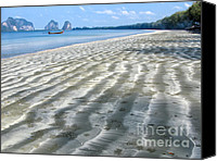 Thai Canvas Prints - Pak Meng Beach Canvas Print by Adrian Evans