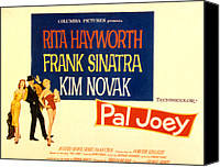 Joey Canvas Prints - Pal Joey, Rita Hayworth, Frank Sinatra Canvas Print by Everett