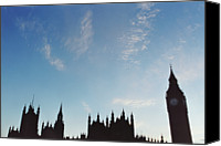 No Face Canvas Prints - Palace Of Westminster Canvas Print by Joseph Clark