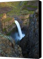 Desert Canvas Prints - Palouse Falls Canvas Print by Mike  Dawson