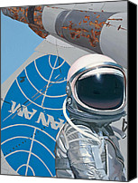 Science Painting Canvas Prints - Pan Am Canvas Print by Scott Listfield