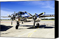 B25 Photographs Canvas Prints - Panchito Canvas Print by Greg Fortier