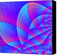 Harmonic Canvas Prints - Parabolic Canvas Print by Jutta Maria Pusl