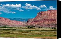 Whalen Photography Canvas Prints - Paradox Valley One Canvas Print by Josh Whalen