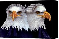 Eagles Canvas Prints - Paralegals... Canvas Print by Will Bullas