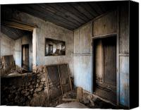 Dilapidated House Canvas Prints - Parallel Worlds Canvas Print by Wayne Sherriff