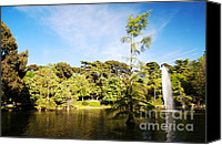 Retiro Canvas Prints - Parque del Buen Retiro Canvas Print by Fabrizio Troiani