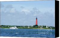 Buffet Canvas Prints - Passing The Tower Canvas Print by Jack Norton