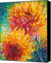 Warm Canvas Prints - Passion Canvas Print by Talya Johnson