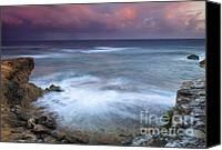 Storm Canvas Prints - Pastel Storm Canvas Print by Mike  Dawson