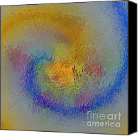 Impressionistic Art Canvas Prints - Path Into Passion Canvas Print by Deborah Benoit
