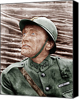 1950s Movies Canvas Prints - Paths Of Glory, Kirk Douglas, 1957 Canvas Print by Everett