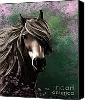 Pony Canvas Prints - Patience Canvas Print by Kate Black