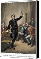 Jean Canvas Prints - Patrick Henry (1736-1799) Canvas Print by Granger