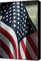 4th July Canvas Prints - Patriotism Canvas Print by Jerry McElroy