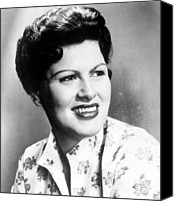 Country Music Canvas Prints - Patsy Cline, C. 1960 Canvas Print by Everett