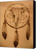 Dream Catcher Gallery Canvas Prints - Pd7-10 Canvas Print by Shannon Rains