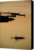 Etc. Canvas Prints - Peaceful Silhouettes Canvas Print by Stephen St. John