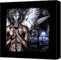 Mythology Canvas Prints - PeaceKeeper Canvas Print by Mandem  