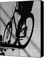 Pedals Canvas Prints - Pedal Pusher Canvas Print by Karen Wiles