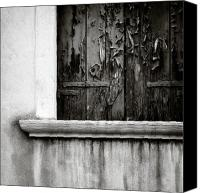 Venetian Canvas Prints - Peeling Canvas Print by David Bowman