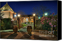 Magnolias Canvas Prints - Peju Winery Eve Canvas Print by Mars Lasar