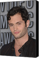 Mtv Canvas Prints - Penn Badgley At Arrivals For 2010 Mtv Canvas Print by Everett