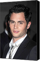 Cipriani Restaurant Wall Street Canvas Prints - Penn Badgley At Arrivals For Fashion Canvas Print by Everett